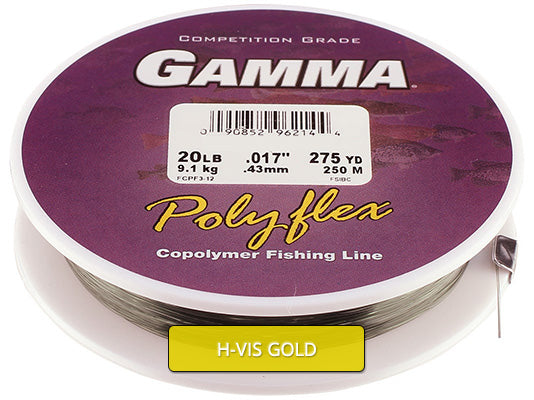 Copolymer - Hi-Vis Gold Filler Spool