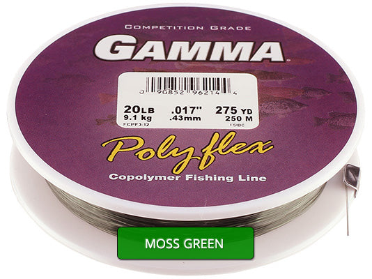 Copolymer - Moss Green Pony Spool