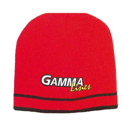 Gamma Knit Hat - Red