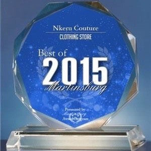 Nkeru Couture Receives Best Of 2015  Award
