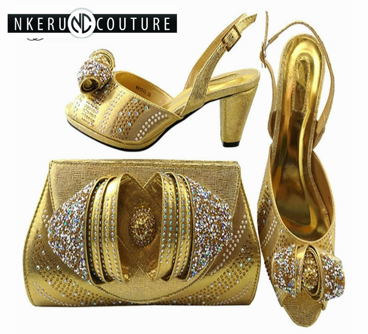 Popular Women Shoes And Bag Set