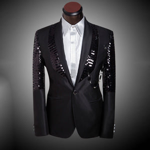 New Arrival Men Suit Wedding Groom Fashion One Button Men's Suit Brand Wedding Prom Suits+Pants Custom Made Terno Masculino D-777
