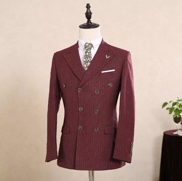 New Arrival 100% Real Image Formal Suit For Men Customized Wedding Men Suits Jacket+Pants+ Tie  V890