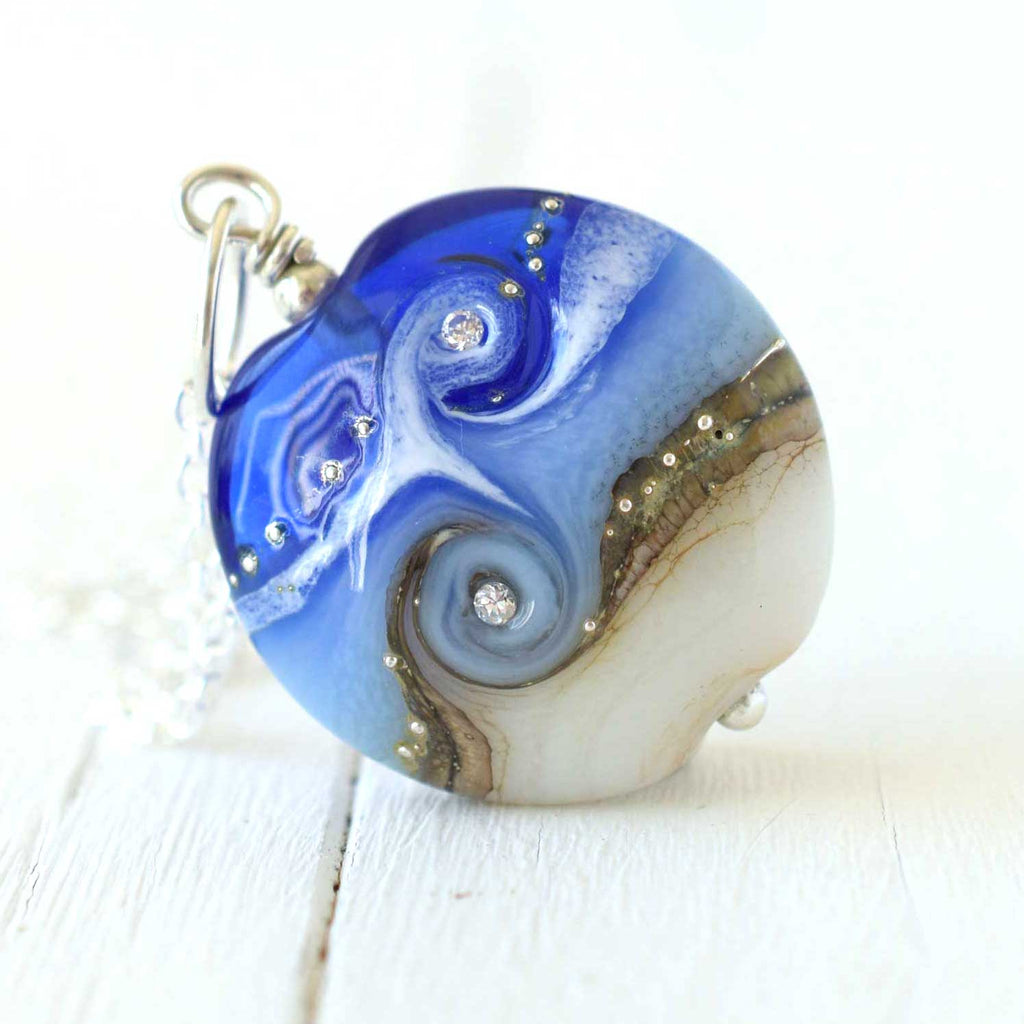 Blue Circe Necklace