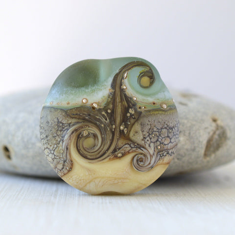art glass lampwork bead
