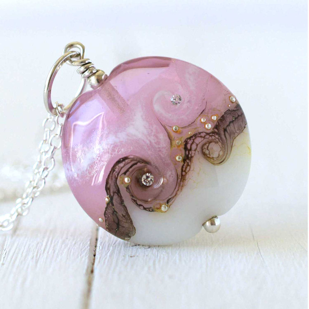 Pink Circe Necklace