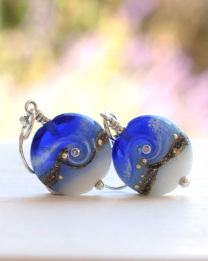 Circe Blue Earrings