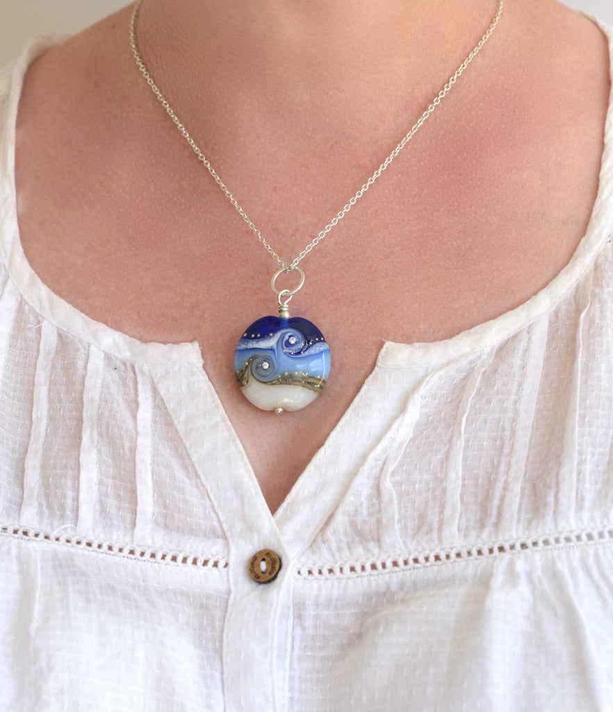 Circe Blue Necklace