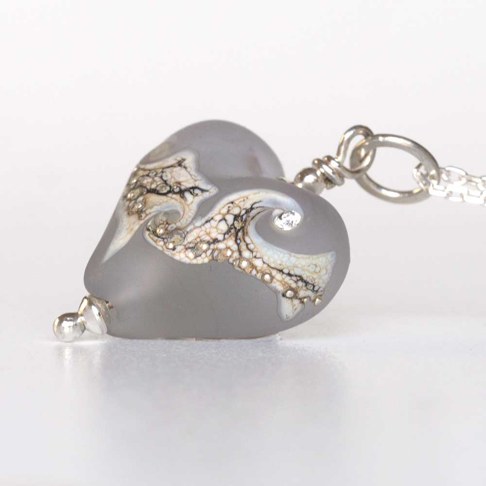 Pale Grey Necklace