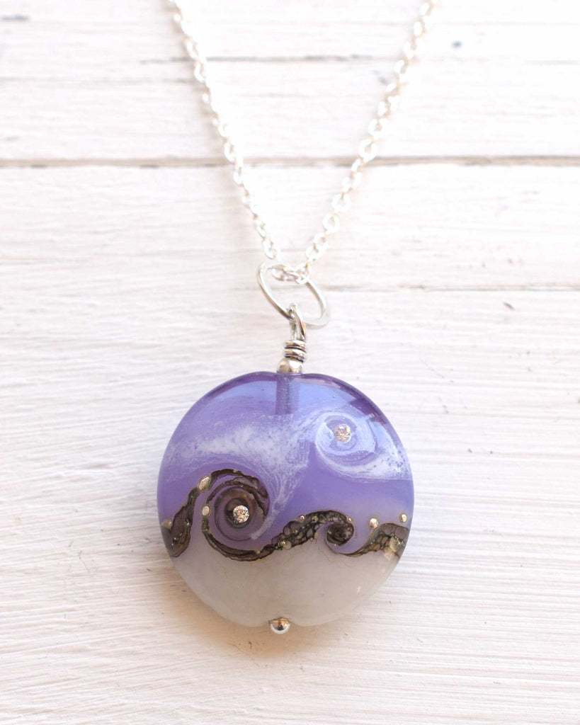 Circe Purple Necklace