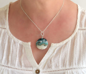 Circe Teal Necklace