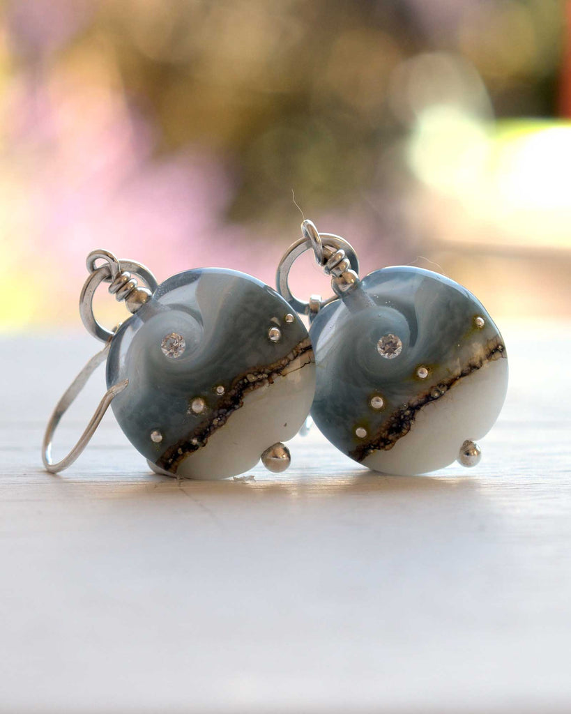 Circe Grey Earrings