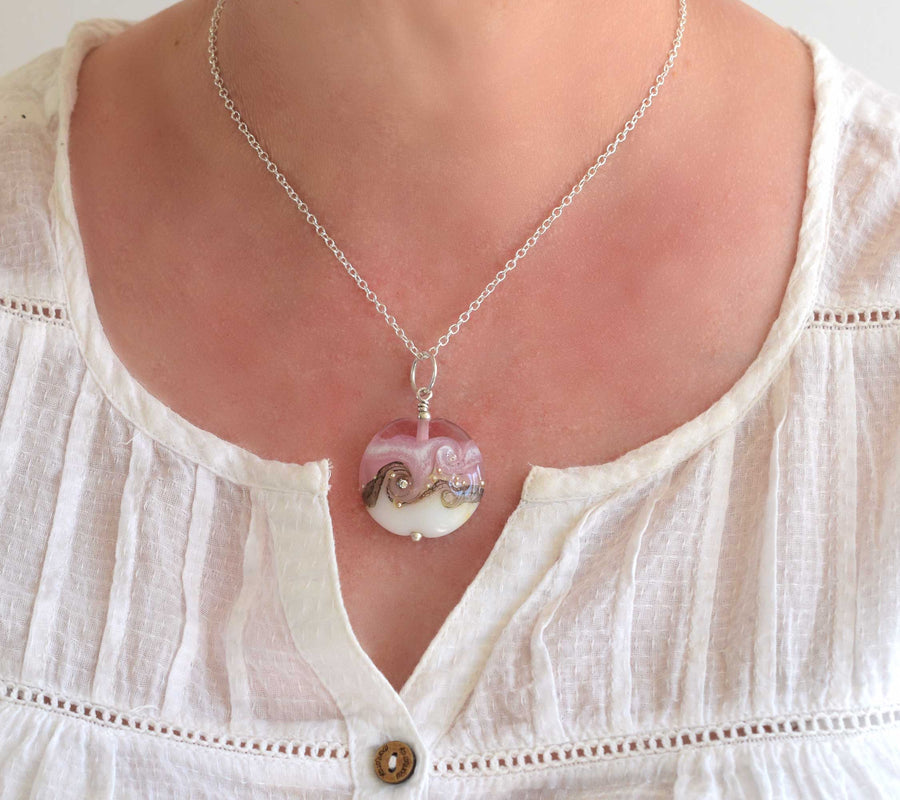 Circe Pink Necklace