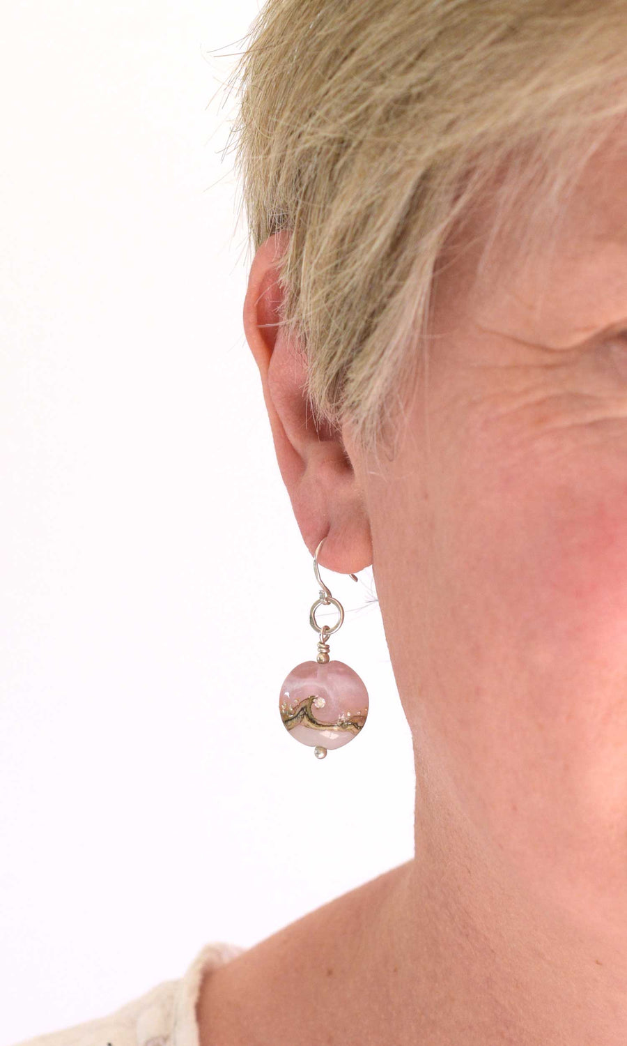 Circe Pink Earrings