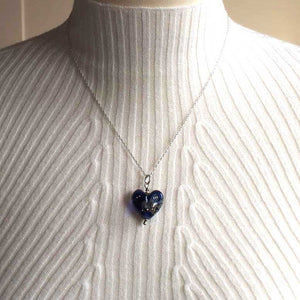Love Heart in Indigo