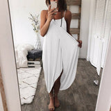 Women Airy Maxi Dress Solid