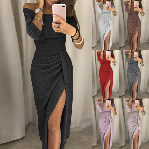 Dress Women Evening Casual Clothes