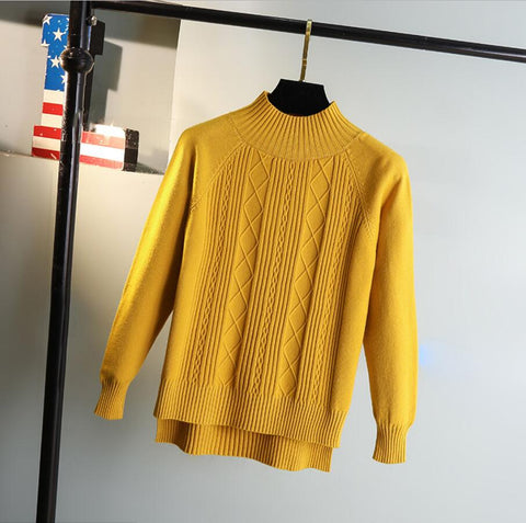 Casual Style Women Knitted Sweater