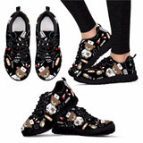 INSTANTARTS Spring Nurse Flat Shoes Women Cute Cartoon