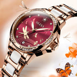 The new 2020!OLEVS women watch, waterproof automatic mechanical