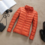 90% Ultra-light Plus Size Thin Down Jacket Women