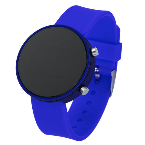 Women Sport Casual LED Watches Kids Men's Digital Clock Man Army