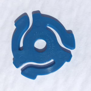 Blue 45rpm Record Insert Adapters
