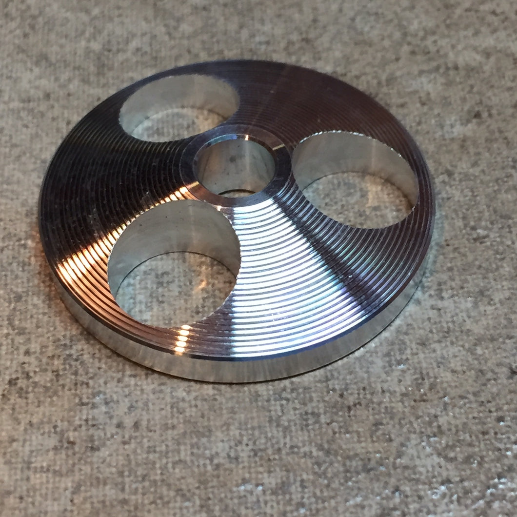 UFO Flying Saucer Design 45rpm Turntable Adapter