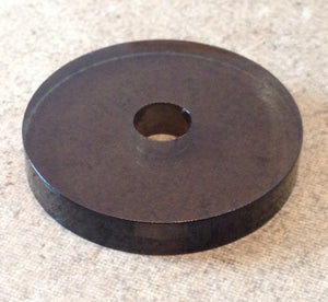 Bronze Acrylic 45rpm Turntable Adapter