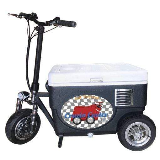 Cruzin Coolers Sport 500W 48V 3 SPEED MOTORIZED ICE CHEST SCOOTER - CoolCatCoolers