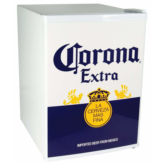 Koolatron Corona 2.4 Cubic Foot (70L) Compact Electric Beer Fridge - White - CoolCatCoolers
