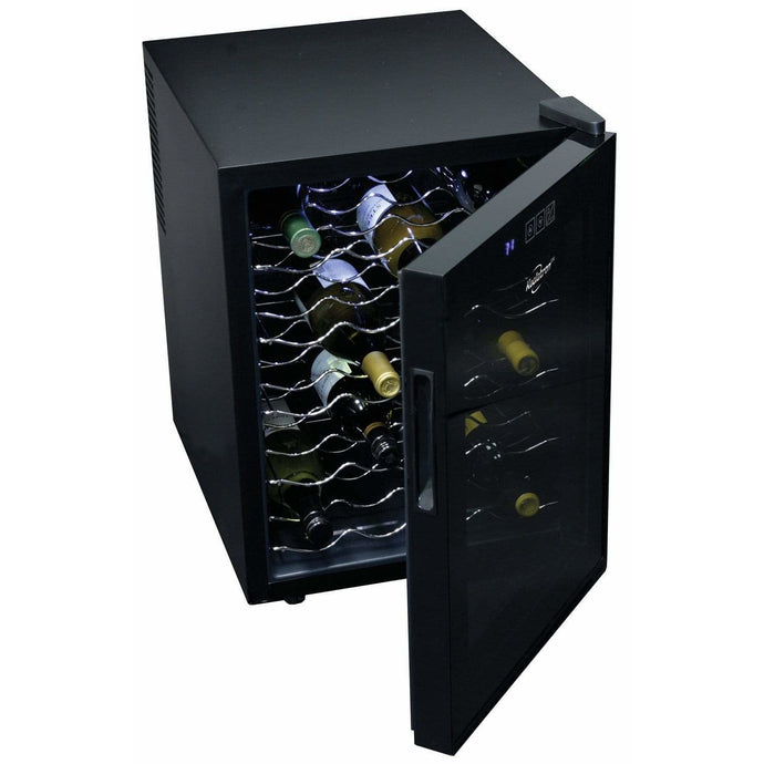 Koolatron 20 Bottle Thermoelectric Wine Cooler with Digital Temperature Controls - CoolCatCoolers