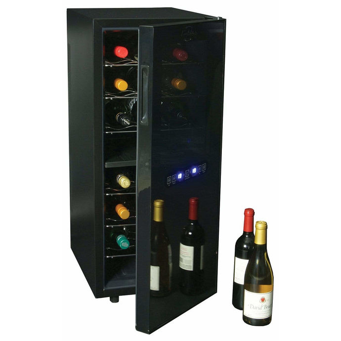 Koolatron 24 Bottle Dual Zone Thermoelectric Wine Cooler with Digital Temperature Controls - CoolCatCoolers