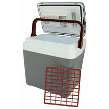 Load image into Gallery viewer, Koolatron 26 Quarts (24 Liters) 12V Portable Electric Cooler - Gray - CoolCatCoolers