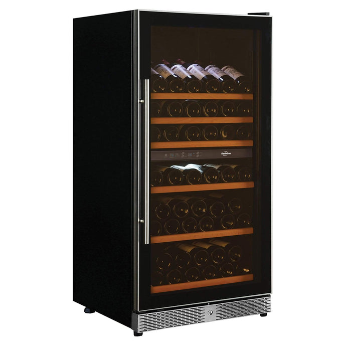 Koolatron 68 Bottle Dual Zone Electric Wine Cooler with Digital Temperature Controls - CoolCatCoolers