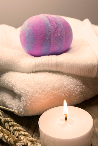Bath bombs - £4.00 or buy 3 and save - round without bubbles range mix and match