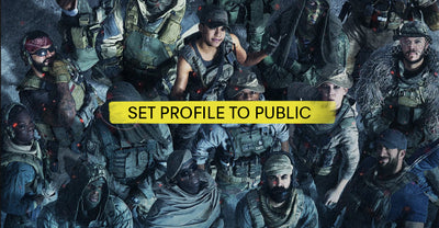 Set your Call of Duty profile to public