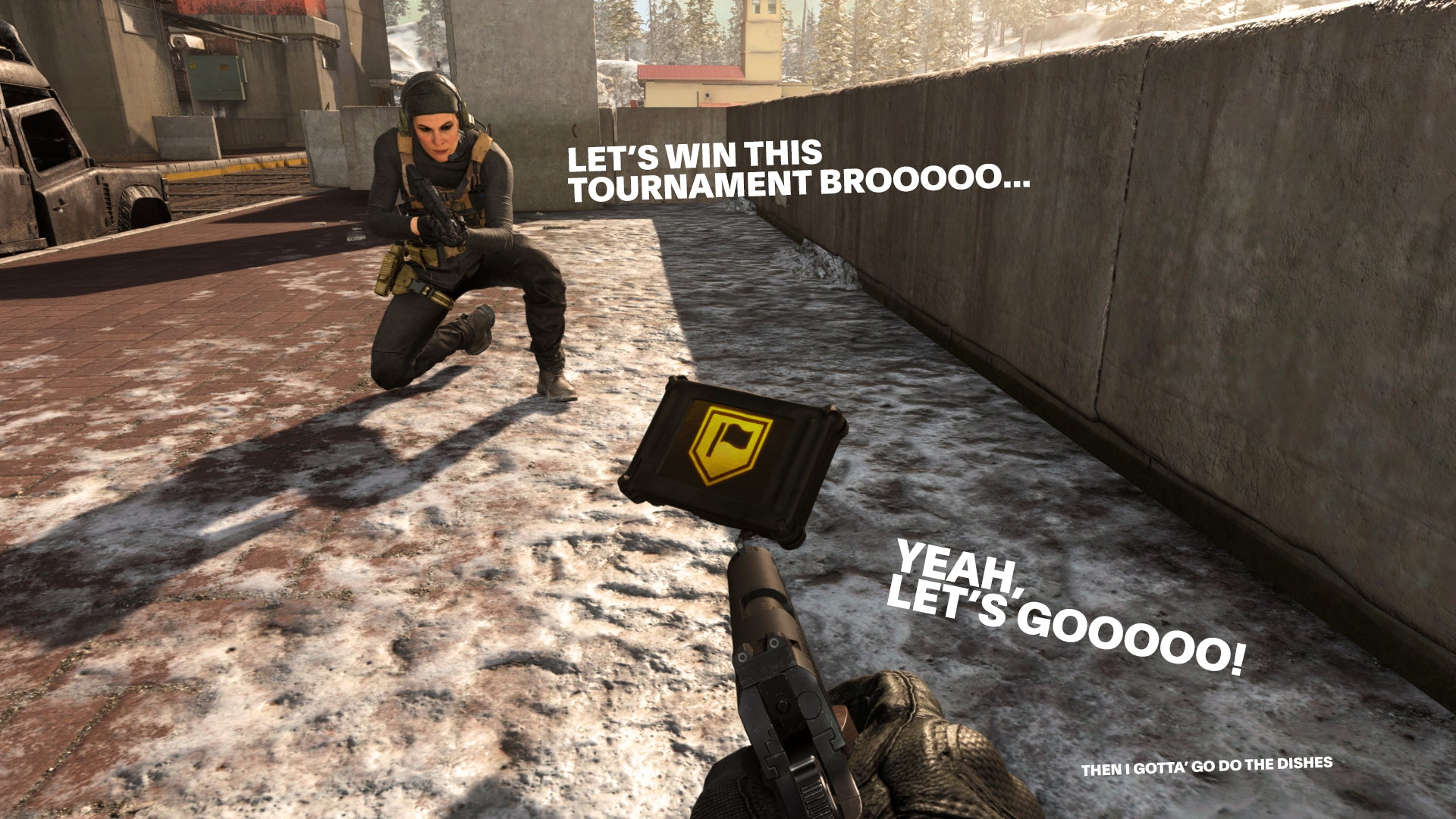 Warzone recon contract in Call of Duty
