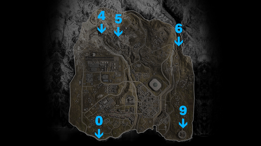 Red access card bunkers in Warzone