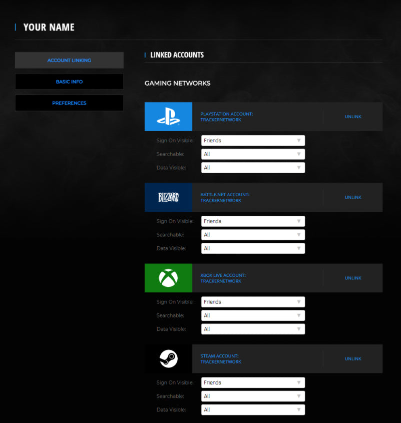set profile to public in call of duty warzone