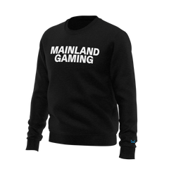 Mainland crewneck sweatshirt in black