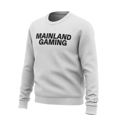 Mainland crewneck sweatshirt in heather grey
