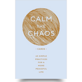 For anyone overwhelmed by the stresses of daily life, this deck is a simple tool to promote calm and well being. There are 65 soothing cards, each featuring a soothing mantra on the front and a short practice on the back including exercises of mindfulness, self care, awareness, grounding, gratitude and more. Pull a card out each day as a practice or whenever you feel like you need it. These are a must have for anyone.