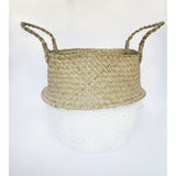 This gorgeous belly basket comes from Vietnam.  It is painted white at the base and becomes the perfect vessel for just about anything around the house.