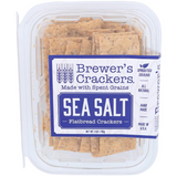 "Our Sea Salt Flatbread is our way of saying ""crunch on"". With a healthy amount of whole grains and the perfect amount of sea salt. They pair perfectly with cheese, soup, salad or just to snack on."