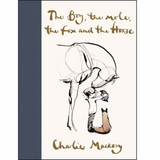 Charlie Mackesy offers inspiration and hope in uncertain times in this beautiful book based on his famous quartet of characters. The Boy, the Mole, the Fox, and the Horse explores their unlikely friendship and the poignant, universal lessons they learn together.