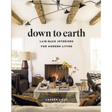 Down to Earth picks up right where Lauren Liess's critically acclaimed Habitat left off. While Habitat walked readers through the decorating process step-by-step, Liess's latest title takes a step beyond the basics and invites readers to incorporate the main components of her familiar design aesthetic: nature, easy living, and approachability. With evocative photos and substantive design advice, Down to Earth focuses on creating a lifestyle that inspires creativity and functionality.