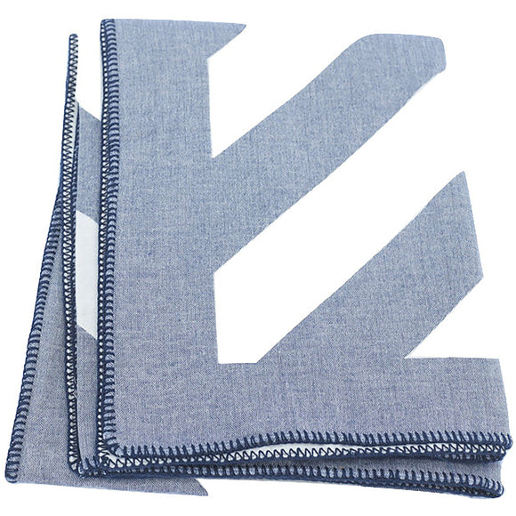 Striped Throw Indigo