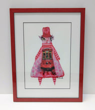 Load image into Gallery viewer, Framed Juju Doll Print