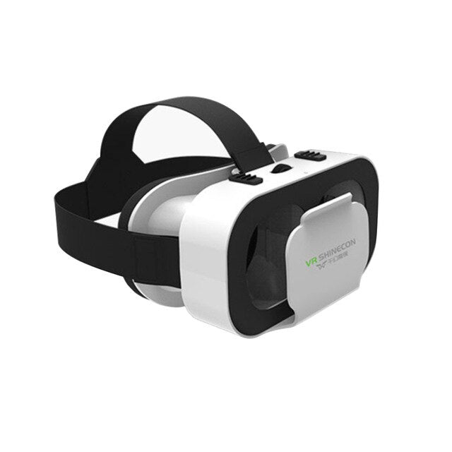 Portable 4.7-6inch Mobile Phone VR Glasses Box Movie 3D Goggles Headset Helmet
